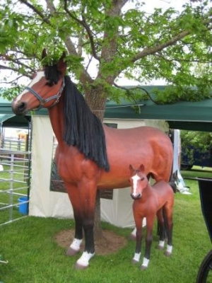 Foal Life Size Jr 2408 The Jolly Roger Life Size 3d